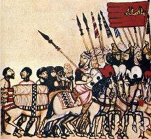 La llegada de los Almohades