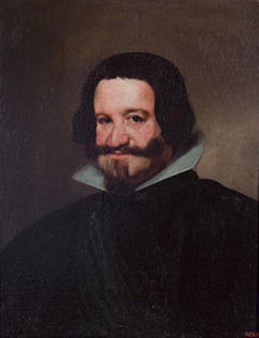 El Conde Duque de Olivares ocupa el puesto de valido