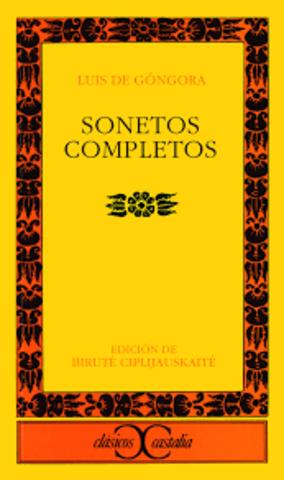 Soneto (Luis de Góngora)