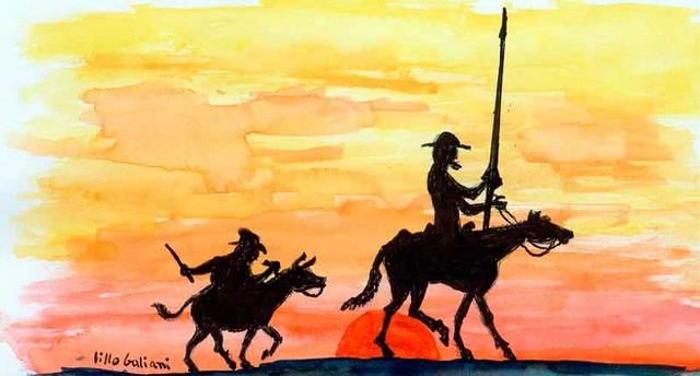 El Quijote y todas las obras de Cervantes