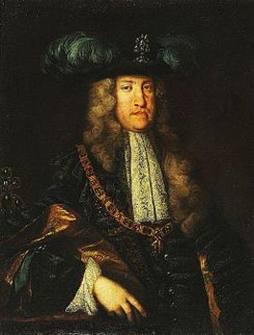 Acceso al trono austriaco del Archiduque Carlos