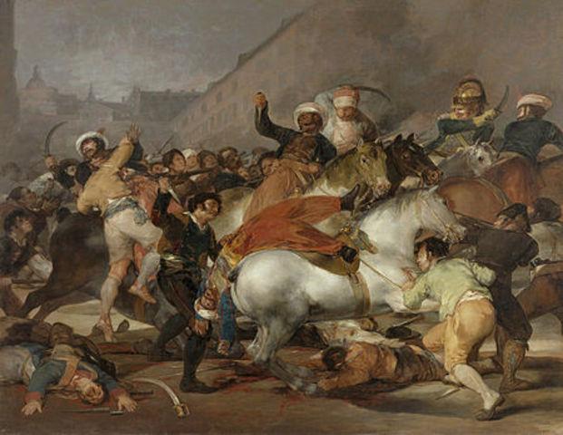 Inicio de la Guerra de Independencia Española