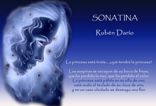 SONATINA, de Rubén Darío
