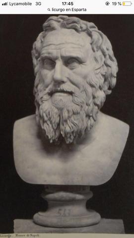 Licurgo en Esparta