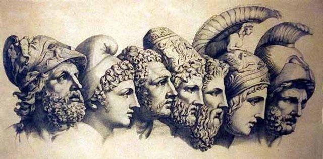 Los siete sabios