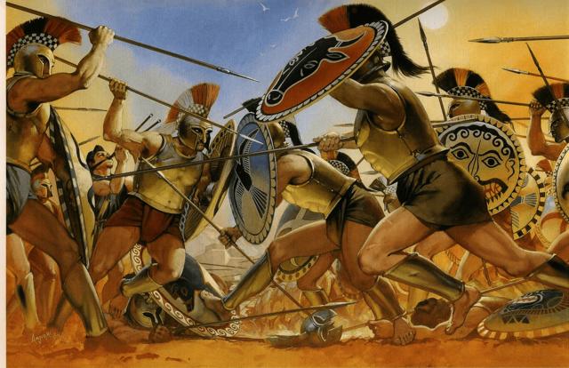 Grandes manifestaciones culturales, guerras médicas y la guerra de Peloponeso