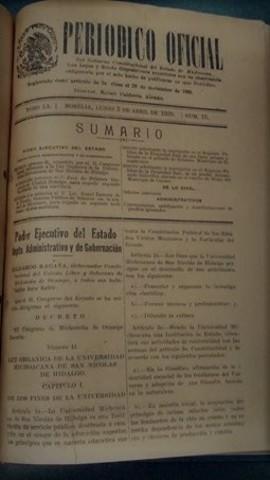 Ley Orgánica de 1939