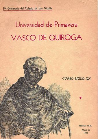 """Universidad de Primavera """"Vasco de Quiroga"""""""