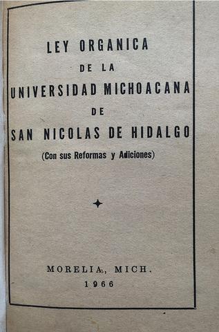 Se reforma y adiciona la Ley Orgánica de 1963