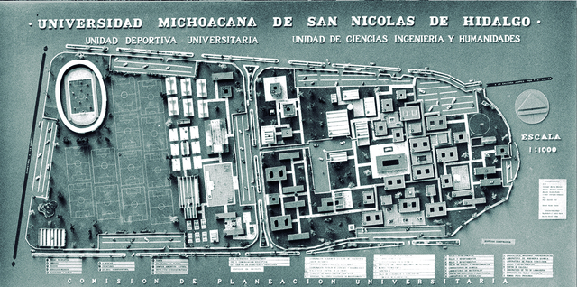 Comisión de planeación de Ciudad Universitaria