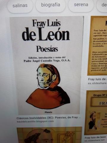 Poesía-Fray Luis de León