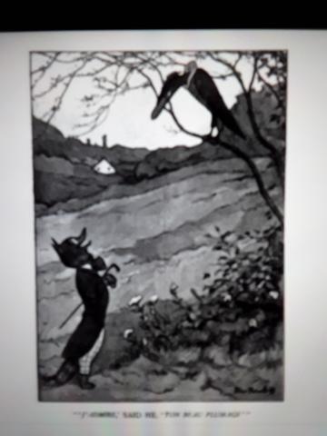 La zorra y el cuervo, Lessing