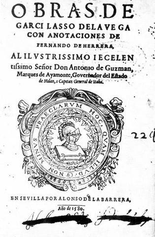 Sonetos (Garcilaso de la Vega)