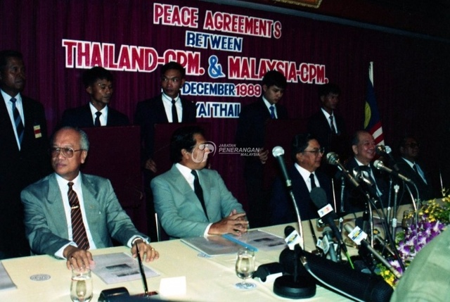 02 December 1989 - Peace Agreement of Hat Yai