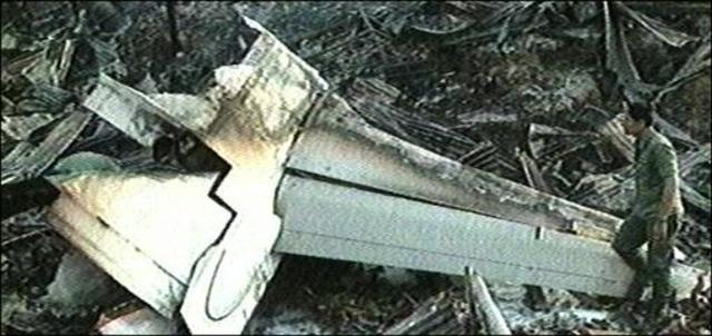 Malaysia Airlines Flight 2133 Crash