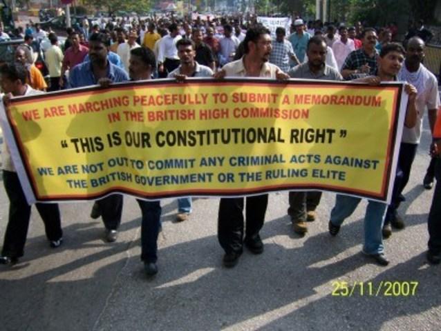 HINDRAF rally