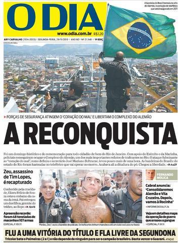 """O Dia: """"A Reconquista"""""""