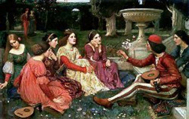 El Decamerón, de Boccaccio
