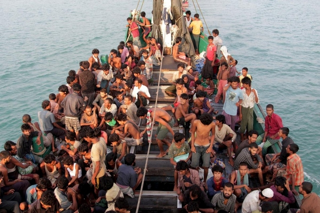 May 2015: Malaysia agrees to rescue Rohingya refugees