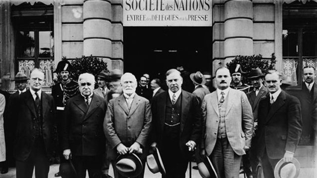 The League of nations is founded