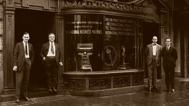 The IBM corporation is founded