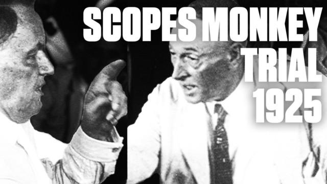 Scopes monkey trial begins in Dayton, TN