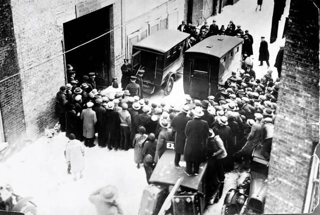 Chicago's st. Valentine's Day massacre