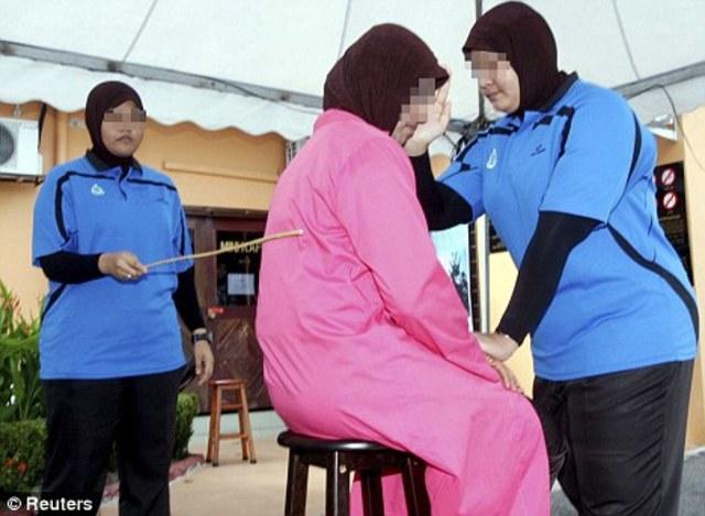 17 February 2010: Malaysia canes three women over extramarital sex