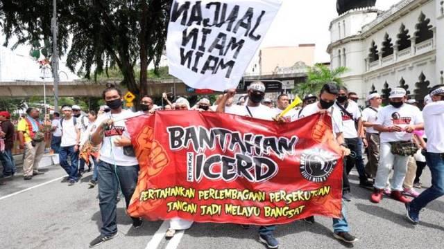 8 December 2018: Anti- ICERD Rally