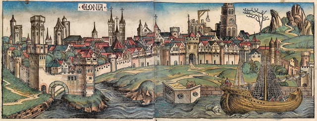 Parts of the Medieval City