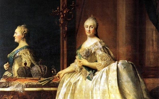 The empress of Russia dies, so Catherine the Great starts a coup to become empress