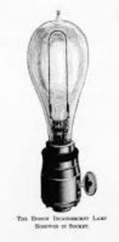 Made the first bulb with Platnium Filament (cont.)