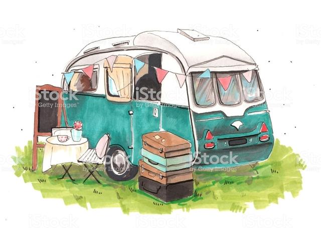 Estiuejar en caravana