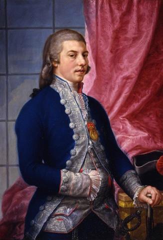 Manuel Godoy dirige el reino como valido de Carlos IV
