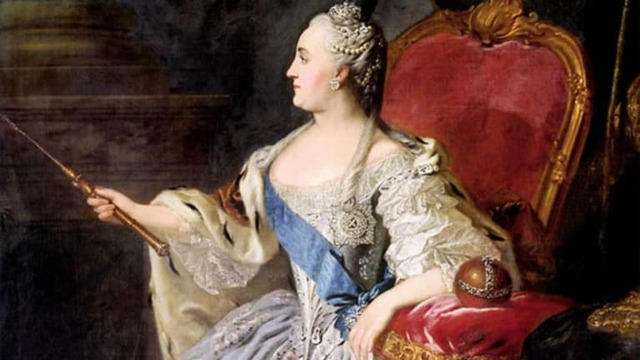 Catherine the Great becomes empress of Russia