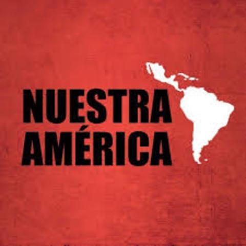 Nuestra America-Jose Martí-Modernista