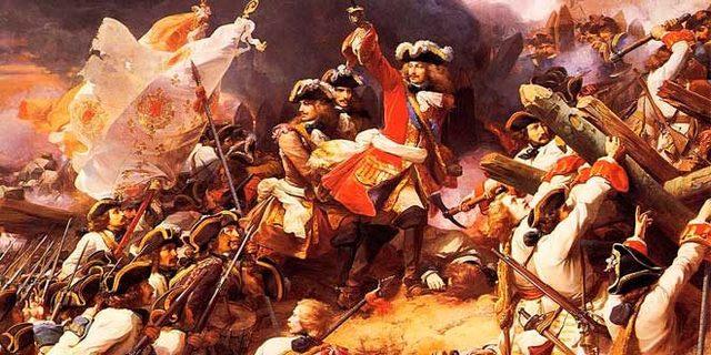 Inicio de la Guerra de Sucesión Española.