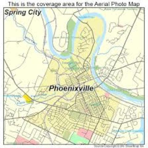 Moved Phoenixville, Pennsylvania