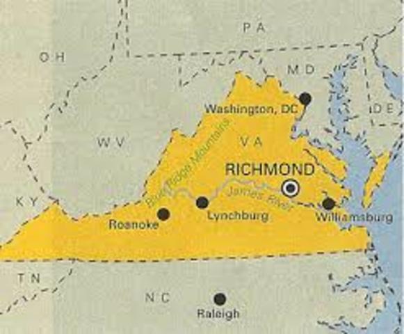Moved from Wellesley, Massachusetts to Richmond, Virginia