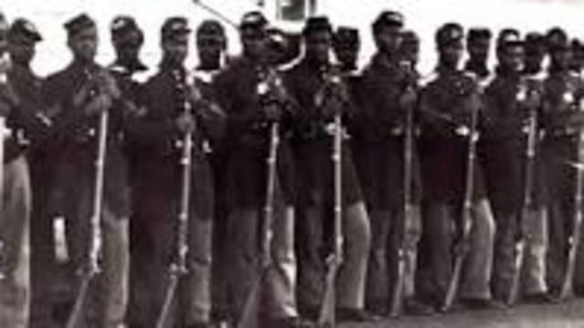 the 54th Massachusetts infantry