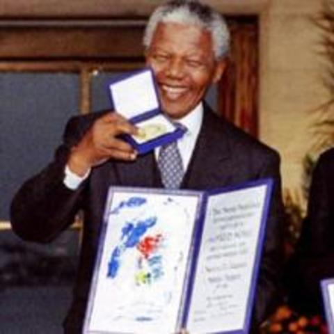 Receives Nobel Peace Price