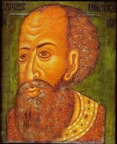 Ivan IV becomes the Grand Prince of Moscow
