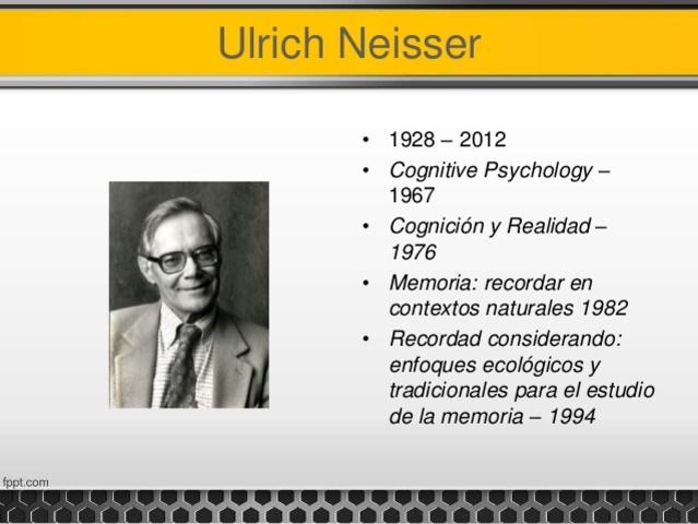 Ulric Neisser de 1967