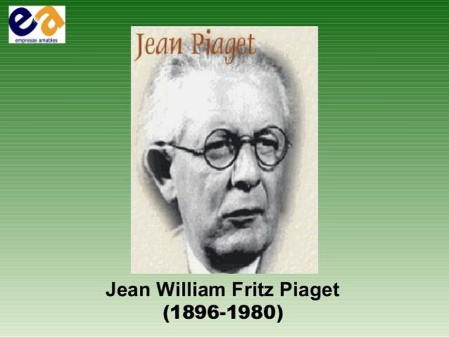Jean William Fritz Piaget (1896-1980)