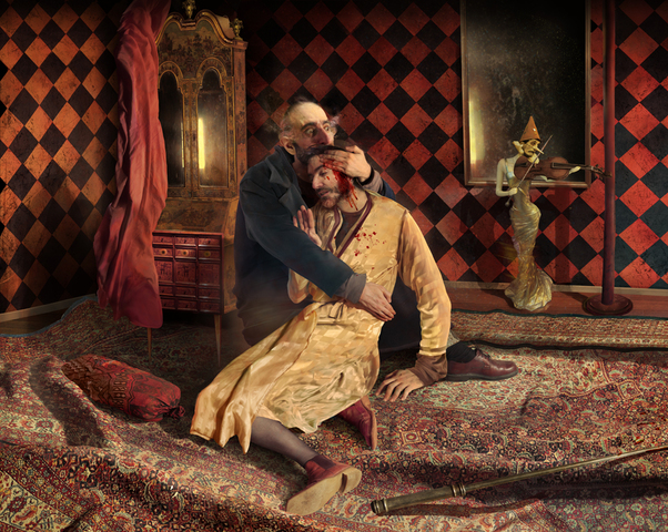 Ivan the Terrible killed his own son