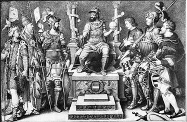The Schmalkaldic war lasts from 1546-1547