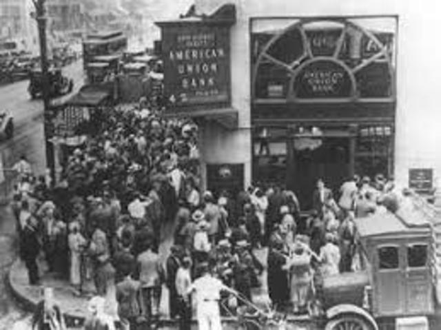 Stock Market crash starts Great Depression