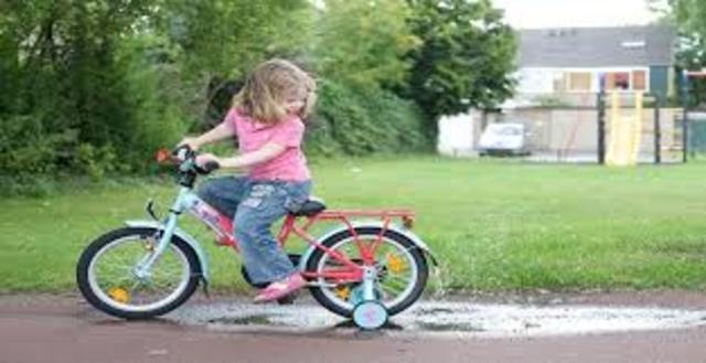 Aprenc a a anar en bicicleta