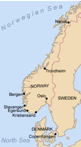 Invasion du Danemark et de la Norvège par l'Allemagne