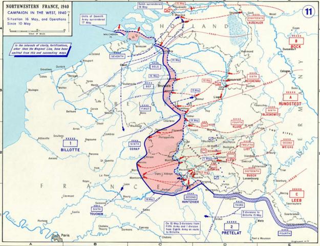 Invasion des Pays-Bas, de la Belgique, du Luxembourg et de la France par la Wehrmacht